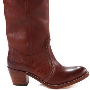 Frye Jane Stitch Knee Boots 5.5